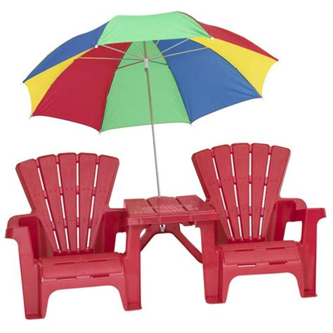 chair with umbrella attached walmart adirondack chair and table set with umbrella