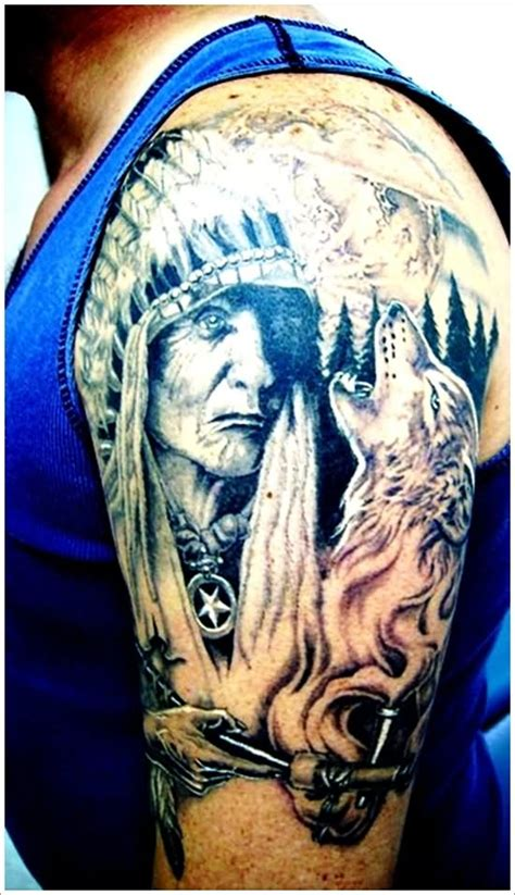 native american sleeve tattoos 100 american tattoos