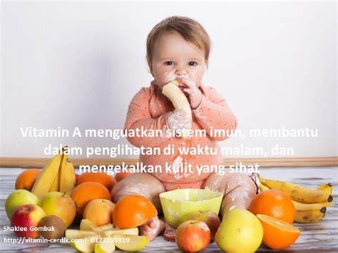 Vitamin A Bayi Kepentingan Vitamin A Kepada Bayi Dan Kanak2 Vitamin Cerdik