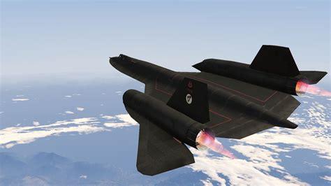 fastest in the world sr 71a blackbird fastest jet in the world gta5 mods