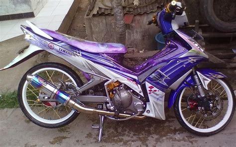 Modif Jupiter Z Velg Jari Jari by Motor Trend Modifikasi Modifikasi Motor Yamaha