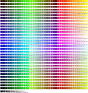 web color chart web safe colors