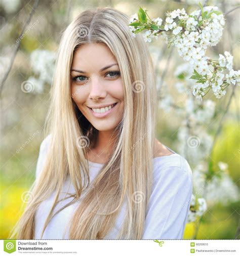 why do the blonde women on young and restless have darker hair beautiful young blonde woman face close up stock photo