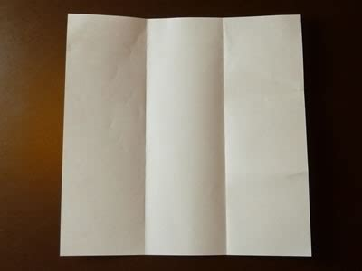 How To Fold A Paper Into Thirds - beautiful origami envelope folding and