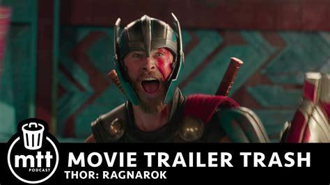 thor ragnarok film youtube movie trailer trash thor ragnarok youtube