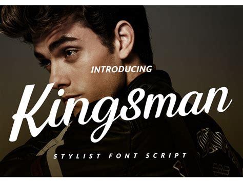 kingsman script  putra khan  dribbble