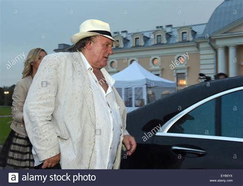 gerard depardieu russland st petersburg russia 23rd july 2015 french actor