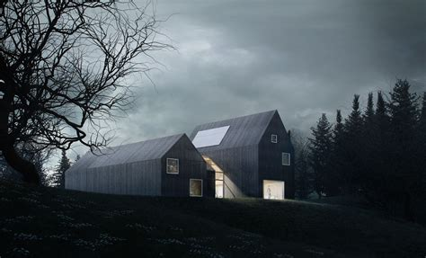 Minimalist Design Principles by Sophisticated Minimalist House In Denmark Lets You Enjoy