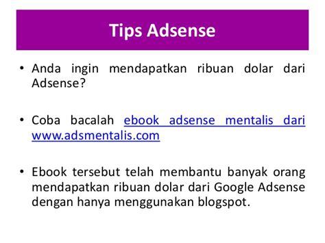 adsense mentalis cara pembayaran google adsense