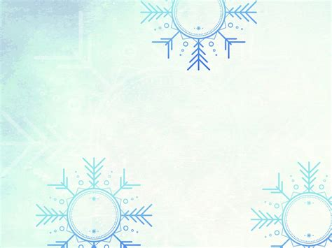 winter powerpoint template winter land backgrounds blue