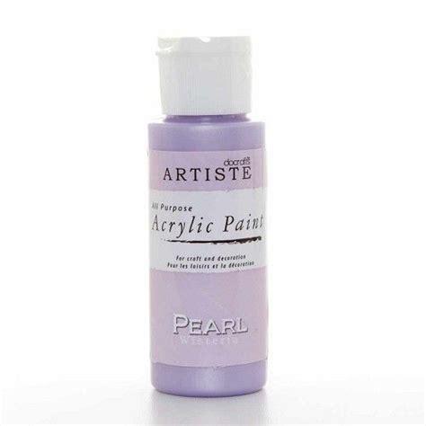 acrylic paint pearl artiste acrylic paint pearl wisteria doa763005