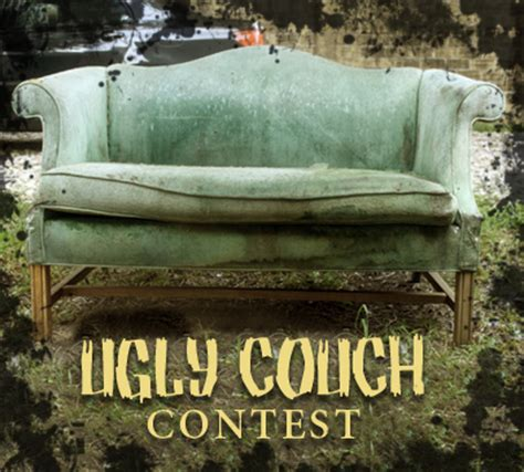 the ugly sofa win a new sofa from ruby quiri during our quot ugly couch