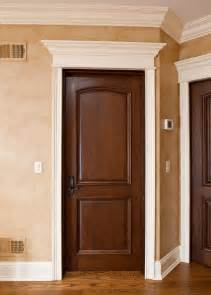 Interior Doors For Home Interior Door Custom Single Solid Wood With Walnut