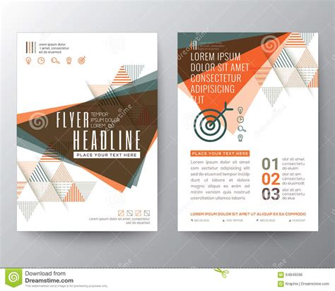 quot green abstract shape poster portfolio layout design city abstract triangle shape poster brochure flyer design