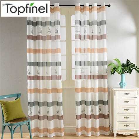 aliexpress com buy 2016 classic sheer curtains for aliexpress com buy 2016 top finel modern striped faux