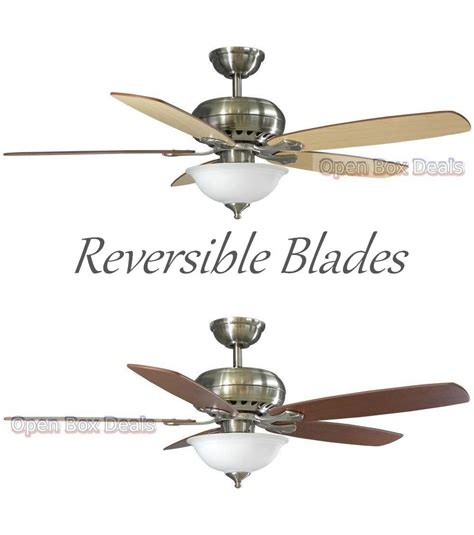 remote control reversible ceiling fans hton bay southwind 52 quot ceiling fan w light remote