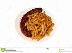 Sausage And Chips Royalty Free Stock Photos - Image: 35275948 Junk Food Background