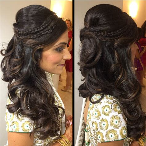 south asian wedding hairstyles of bridal by aradia 187 south asian indian bridal
