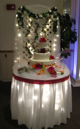 cake table fairy lights party ideas pinterest
