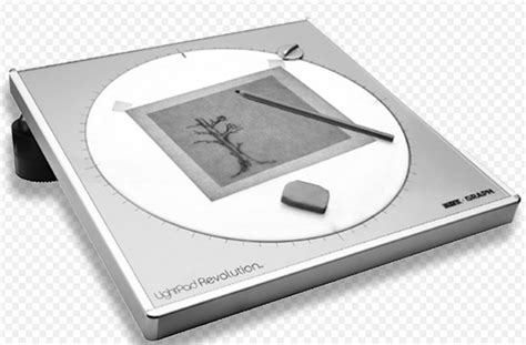 Artograph Light Pad by Artograph Light Pad Revolution 80 216 Diameter 22 2cm