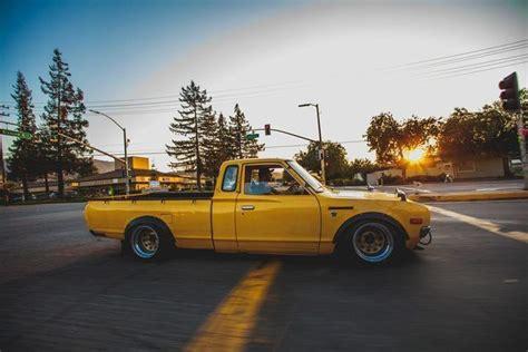 slammed datsun truck ca slammed 1978 datsun 620 king cab 5 speed stanceworks