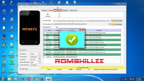 reset android mtk how to flash mtk android devices using sp flash tool