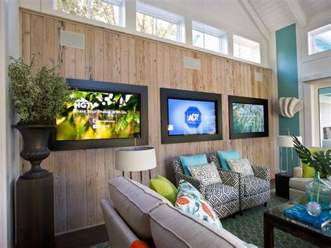 tvs for room hgtv smart home 2013 debuts with adt pulse lighting the way