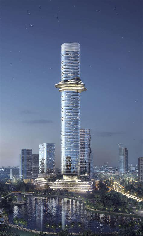 buro ole scheeren gallery of buro ole scheeren unveils skyscraper complex in
