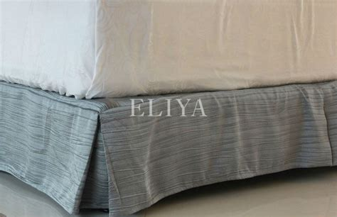 fitted bed skirt hotel fitted bed skirts view bed skirt eliya product