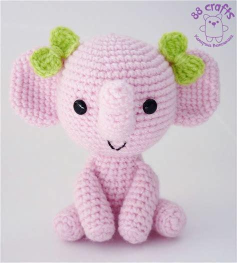 pink elephant pattern 171 best images about haken beestenbende on pinterest