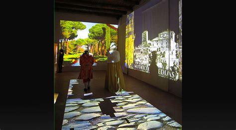 libreria archeologica proiezioni architetturali produzioni mapping 3d e