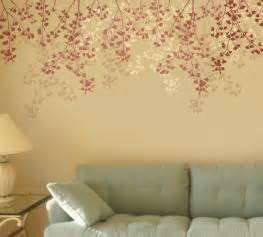 Cherry Blossom Tree Wall Sticker wall stencils a fresh coat