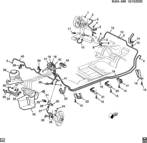 brake line diagram chevy cavalier warning lights autos post
