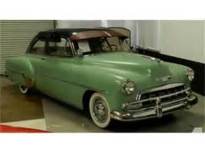 1952 Chevrolet For Sale 1952 Chevrolet Deluxe For Sale In Benicia California