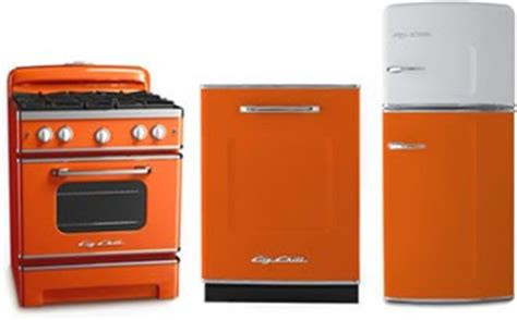 orange kitchen appliances decorate with orange how about orange
