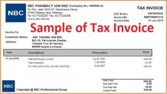 Authorization Letter For Kwsp what is tax invoice how to issue tax invoice goods amp services tax