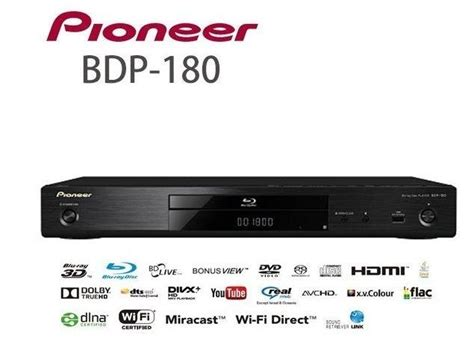 Pioneer Bdp180 Player 4k Network 3d Blk Pioneer Bdp180 Network 3d Player Jailbreak Version
