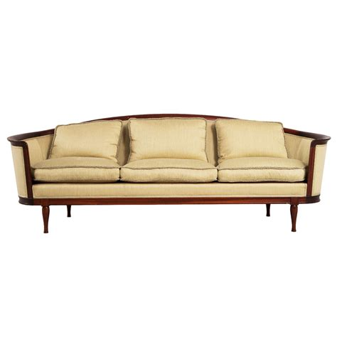 1930 couch styles elegantly curved scandinavian sofa 1930s at 1stdibs