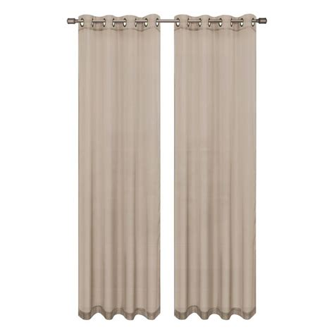 extra wide sheer curtains diamond sheer voile extra wide grommet single curtain