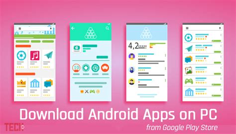 downloading apps on android how to android apps on pc from play store
