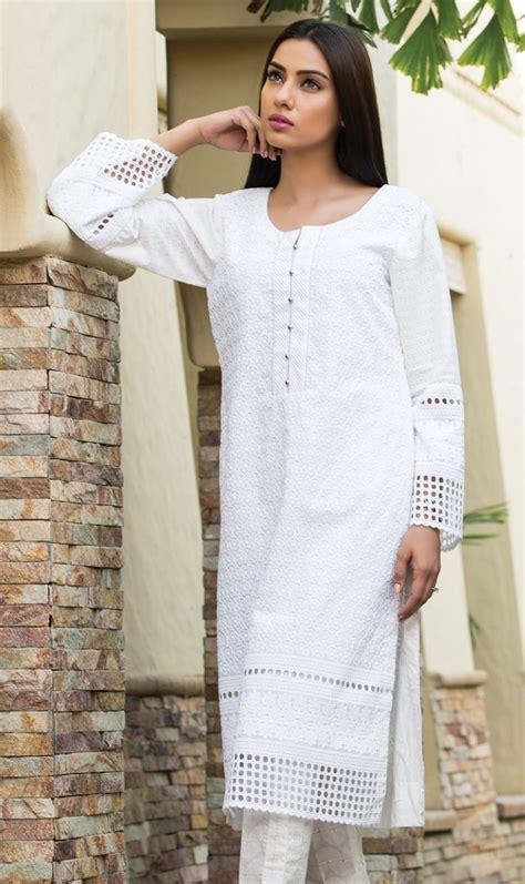 dress design in white colour pakistani dresses 2015 a cup of karachi
