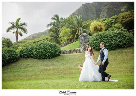 Wedding Planner Oahu by Hawaii Kualoa Ranch Wedding At Paliku Gardens By Right Frame
