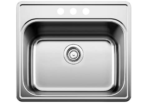 stainless steel drop in utility sink blanco essential laundry sink white gold