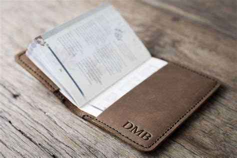 Leather Travel Wallet Passport Cover leather passport cover handmade travel wallet by joojoobs