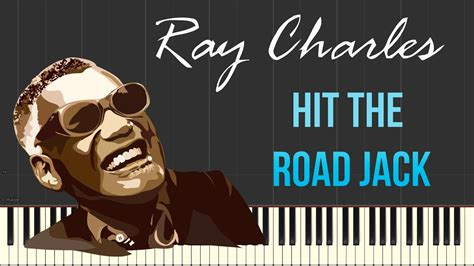 fingerstyle tutorial hit the road jack ray charles hit the road jack piano tutorial synthesia