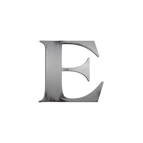 Block Letter Wall Decor by Individual Block Letters Wall Decor Letter E