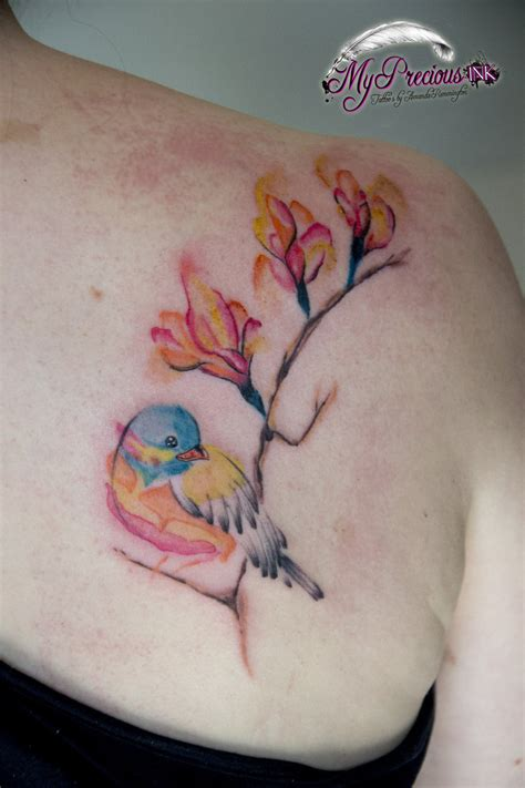 watercolor bird tattoo watercolor bird by mentjuh on deviantart