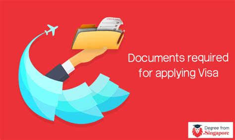 Documents Required For Mba Proof by Documents Required For Student Visa In Singapore