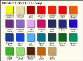 vinyl colors vehicle lettering specifications customvinyllettering net