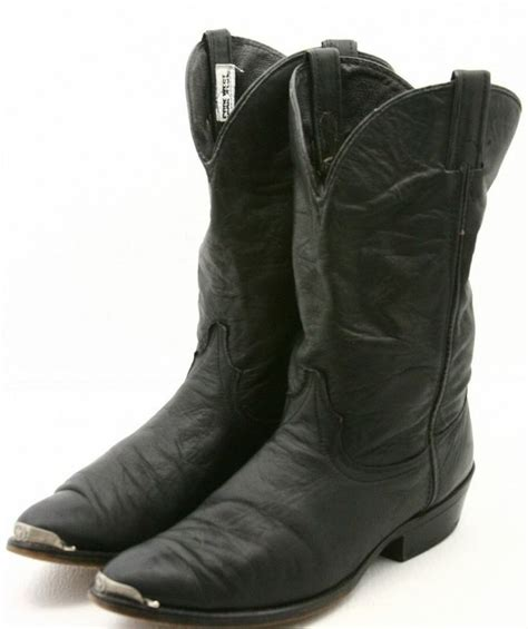 code west womens cowboy boots size 11 m soft shaft black
